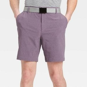All In Motion Men's Golf Shorts Purple Size 40